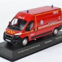 Peugeot boxer sapeurs pompiers sdis62 grimp 1 43 odeon 0032 autominiature01 1