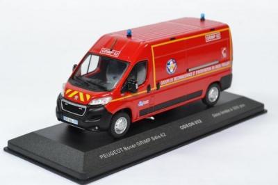 Peugeot boxer Sapeurs Pompiers GRIMP SDIS 38