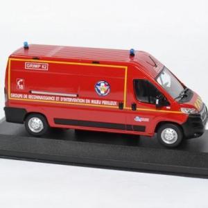 Peugeot boxer sapeurs pompiers sdis62 grimp 1 43 odeon 0032 autominiature01 3