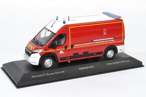 Peugeot boxer sapeurs pompiers sdis64 odeon 1 43 odeon038 autominiature01 1