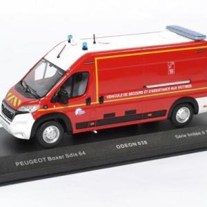 Peugeot Boxer VSAV Sapeurs Pompiers du SDIS64
