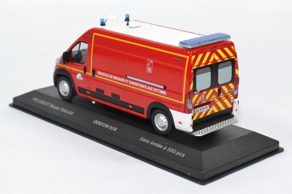 Peugeot boxer sapeurs pompiers sdis64 odeon 1 43 odeon038 autominiature01 2