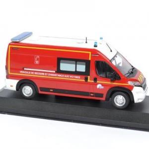 Peugeot boxer sapeurs pompiers sdis64 odeon 1 43 odeon038 autominiature01 3