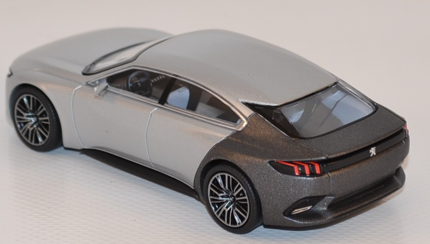Peugeot exalt 2014 concept car paris norev 1 43 autominiature01 com nor479987 2