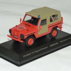 Peugeot p4 pompier 1 43 odeon autominiature01 1