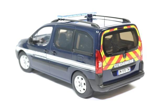 Peugeot partner gendarmerie 2018 norev 1 18 autominiature01 184890 2