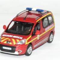 Peugeot partner pompier secour medical 1 43 norev 2010 autominiature01 1