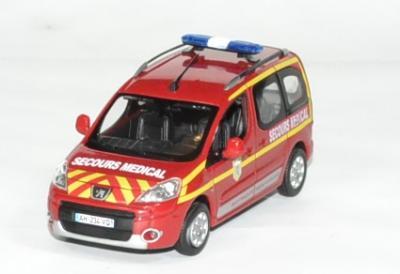 Peugeot Partner Pompiers Secours Médical 2010