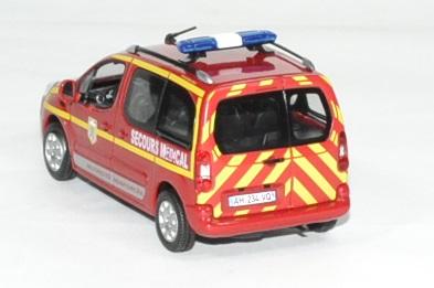 Peugeot partner pompier secour medical 1 43 norev 2010 autominiature01 2