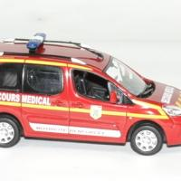 Peugeot partner pompier secour medical 1 43 norev 2010 autominiature01 3