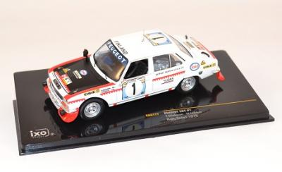 Peugeot 504 #1 T. Makinen Rally Safari 1975 Ixo 1-43