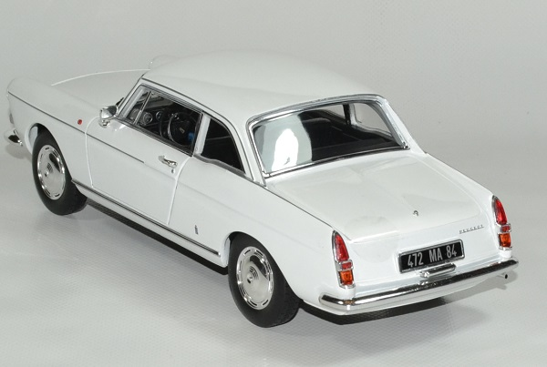 Peugeot404 coupe blanc 1967 norev 1 18 autominiature01 4