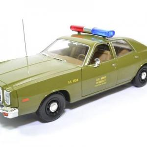 Plymouth fury US Army Police Militaire the A-Team Agence tous risques 1977