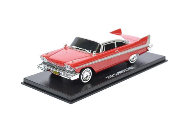 Plymouth fury christine evil version nuit 1 43 greenlight autominiature01 86575 1