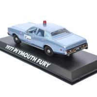 Plymouth fury detroit police 1977 greenlight 1 43 autominiature01 86565 2