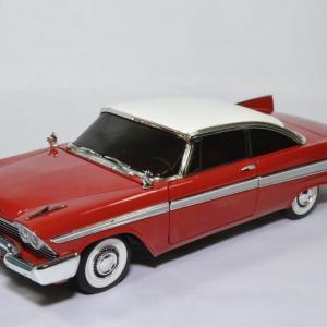 Plymouth Fury Christine version nuit 1958 film de 1983 rouge