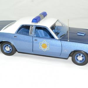 Plymouth fury police arkansas 1975 greenlight 118 autominiature01 3
