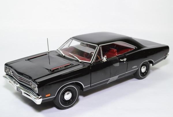 Plymouth gtx hard top 1969 noir amm 1 18 amm1204 autominiature01 1