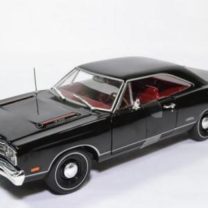 Plymouth GTX Hard top noire 1969 muscle car