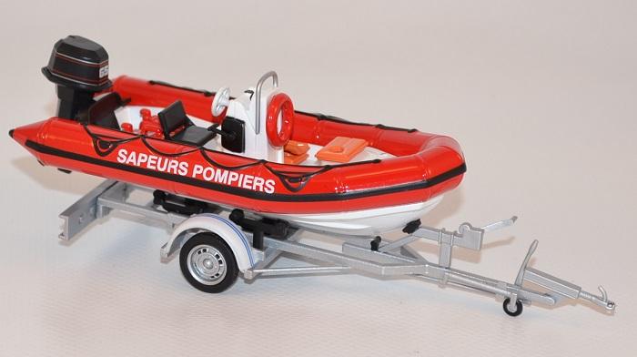 Pneumatique bateau remaorque zodiac sapeurs pompiers eligor 1 43 autominiature01 com eli120057 1