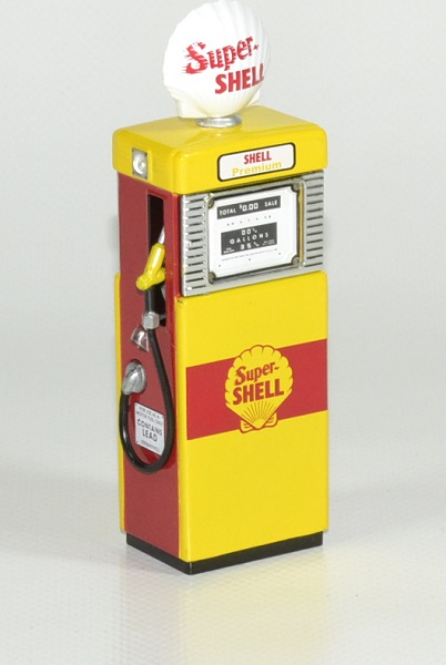 Pompe essence gasoline 1951 shell 1 18 greenlight autominiature01 1
