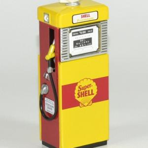 Pompe essence gasoline 1951 shell 1 18 greenlight autominiature01 1