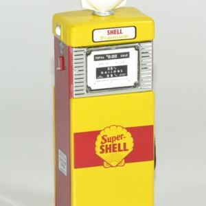 Pompe essence gasoline 1951 shell 1 18 greenlight autominiature01 2