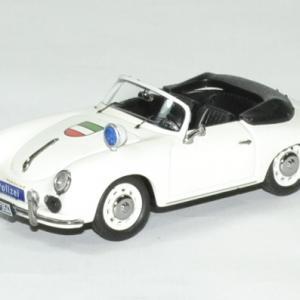 Porsche 356 A cabriolet polizei