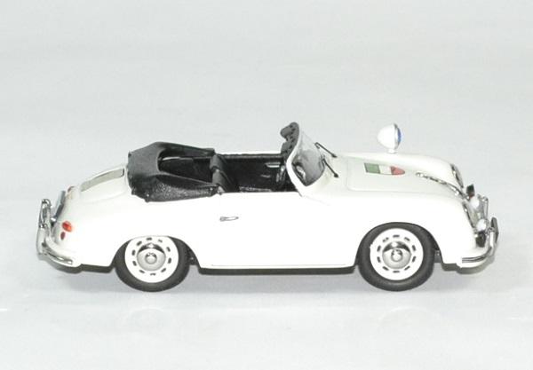Porsche 356 a cab polizei 1 43 schuco autominiature01 3