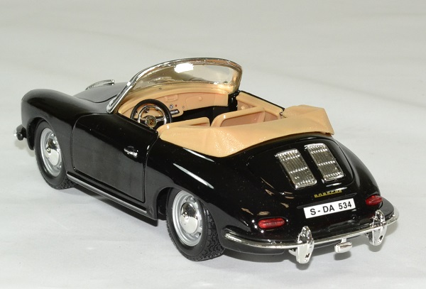 Porsche 356b 1961 cabrio 1 24 bburago autominiature01 2