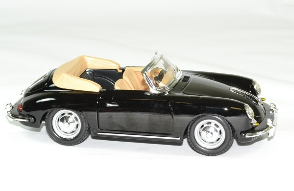 Porsche 356b 1961 cabrio 1 24 bburago autominiature01 3