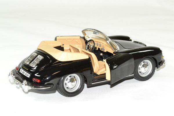 Porsche 356b 1961 cabrio 1 24 bburago autominiature01 4