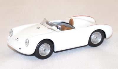Porsche 550 RS 10cv 4 cylinders white 1957 Best 1/43