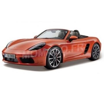 Porsche 718 boxster orange