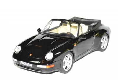 Porsche 911 Carrera Cabriolet noir 1993