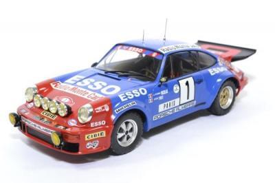 Porsche 911 Carrera RS #1 Nicolas - Todt rallye Monte Carlo 1979 Ixo 1/18 ixo18rmc026