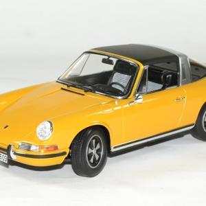 Porsche 911 e targa orange 1969 norev 1 18 autominiature01 1