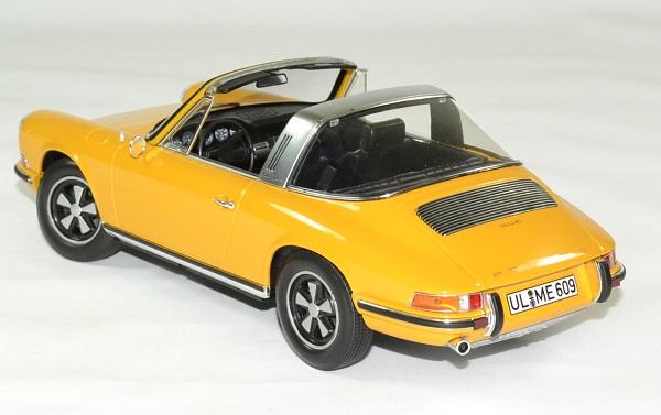 Porsche 911 e targa orange 1969 norev 1 18 autominiature01 2