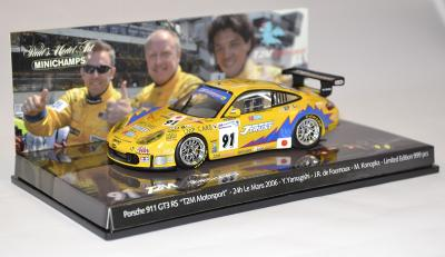 Porsche 911 GT3 rs Le mans 2006 #91 Minichamps 1-43