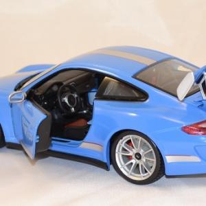 Porsche 911 gt3 rs 4 0 1 18 bburago www autominiature01 com 2