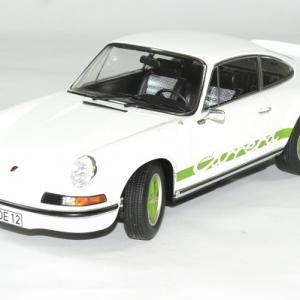 Porsche 911 rs blanc 1973 norev 1 18 autominiature01 1