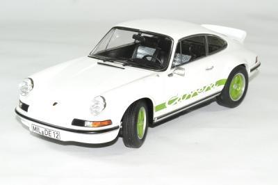 Porsche 911 RS blanc / vert 1973