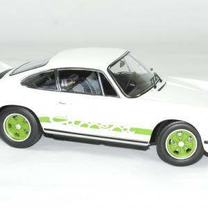 Porsche 911 rs blanc 1973 norev 1 18 autominiature01 3