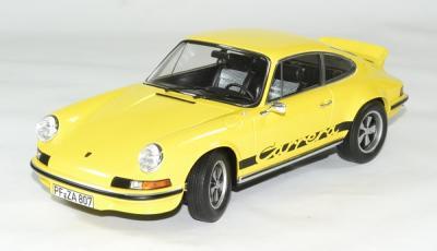 Porsche 911 RS touring jaune / noir 1973