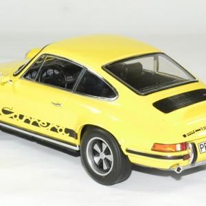 Porsche 911 rs jaune touring 1973 norev 1 18 autominiature01 2