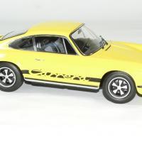 Porsche 911 rs jaune touring 1973 norev 1 18 autominiature01 3