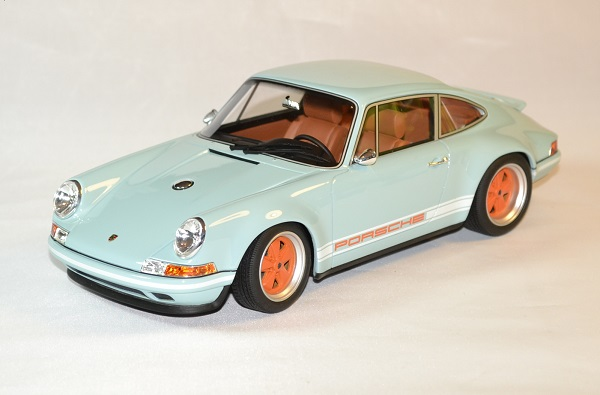 Porsche 911 singer 964 bleu 2014 1/18 by Cult scale models