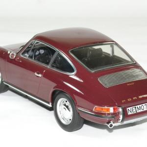 Porsche 911 t rouge 1969 norev 1 18 autominiature01 2