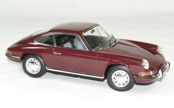 Porsche 911 t rouge 1969 norev 1 18 autominiature01 3