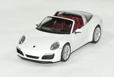 Porsche 911 targa 4S 2016 blanc
